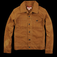 UNIONMADE - Filson - Tin Cloth Short Cruiser Jacket in Tan