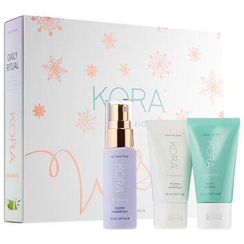 Daily Ritual Kit for Sensitive Skin - KORA Organics | Sephora