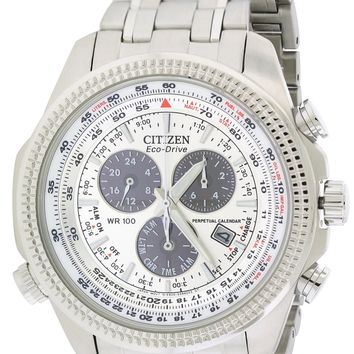 Citizen Eco-Drive Perpetual Calendar Alarm Watch BL5400-52A