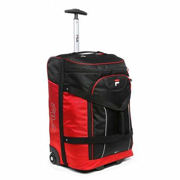 FILA Luggage, Expedition 21-in. Wheeled Drop-Bottom Duffel Bag
