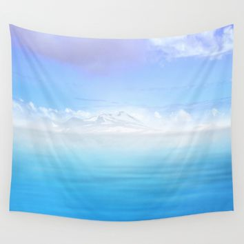 Pastel vibes 44 Wall Tapestry by Viviana Gonzalez