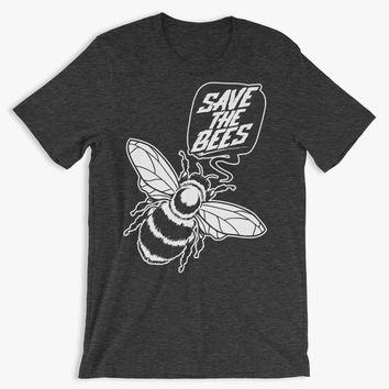 Save The Bees - Environmental Awareness - Unisex T-Shirt