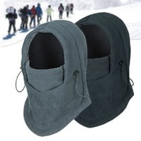 Winter Outdoor Windproof Thermal Face Mask - Assorted Colors