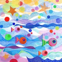 Starry Sea Canvas Wall Art