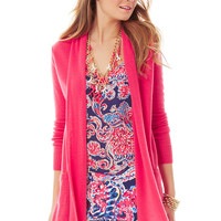 Lilly Pulitzer Estelle Cashmere Open Cardigan