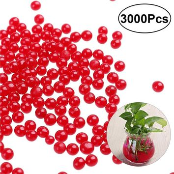 3000 Count - Water Beads, Crystal Mud, Crystal Water Gel Beads