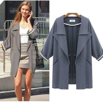 Women's Fashion Jacket Stylish Windbreaker [22459416602]