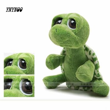 YNYNOO 20cm Green Big Eyes Plush Tortoise Turtle Doll Toy Cute Soft Kids Baby Girls Boys Stufffed Plush Animal Toy Gift P882