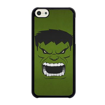 HULK MARVEL COMICS MINIMALISTIC iPhone 5C Case