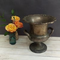 Champagne Bucket/ Towle Silver Ice Bucket/ Towle Silver Plate/ Trophy Cup/ Rustic Home Decor/ Ice Bucket Vintage/ Wine Chiller/ Towle