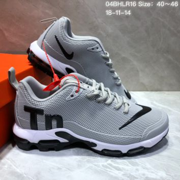 KUYOU N801 Nike Mercurial TN Air Cushion Casual Running Shoes Grey