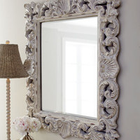 Crushed Shell Mirror