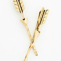 Minimal Glow and Arrow Hair Pin Set by ModCloth