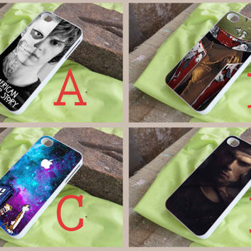 American Horror,boba fett,calvin and hobbes,Damo Salvatore - art case for iphone case/ipod touch case/samsung galaxy case
