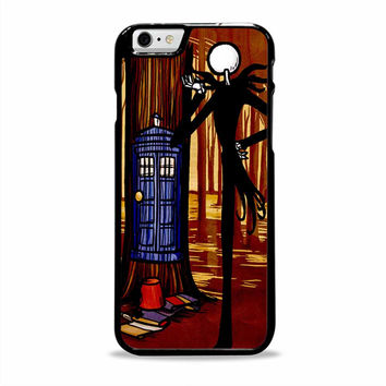 Jack Skellington Tardis movies cartoon Iphone 6 plus Cases