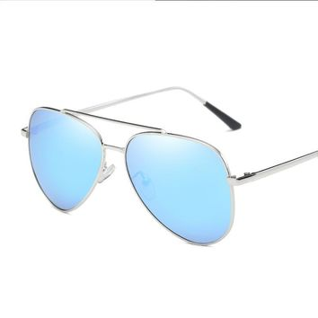 Brand Design Retro vintage sunglasses polarized lens  Retro Metal frame Men's sun glasses Driving Outdoor Eyeglasses