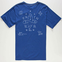 Katin Texino Mens T-Shirt Indigo  In Sizes