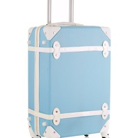 women vintage rolling luggage sets