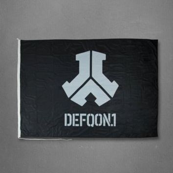 DEFQON.1 BASIC FLAG BLACK 2014 | Q-dance Store