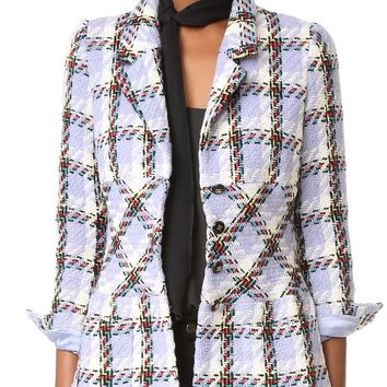 Chanel Plaid Jacket (Previously Owned)