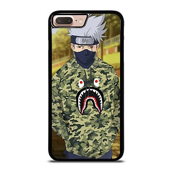 KAKASHI NARUTO BAPE SHARK iPhone 8 Plus Case Cover