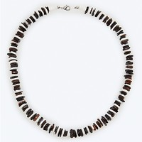 Black & White Puka Necklace