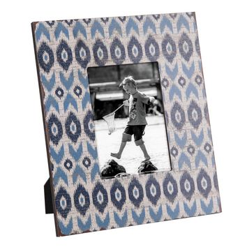 Wood Ikat Picture Frame - 5x7