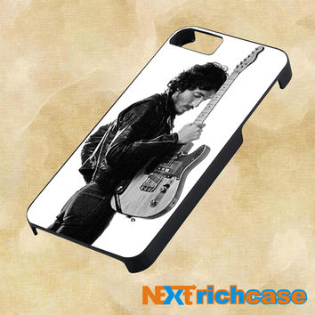 bruce springsteen guitar For iPhone, iPod, iPad and Samsung Galaxy Case