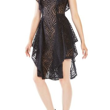 BCBGMAXAZRIA 'Christiania' Lace Fit & Flare Dress | Nordstrom