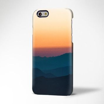 Sunset Valley Mountain Landscape iPhone 6s Plus Case iPhone 5s 5c Case Galaxy S6 Edge Plus Case 183