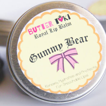 Gummy Bear Lip Balm 1oz  - 100% Vegan with SPF 15