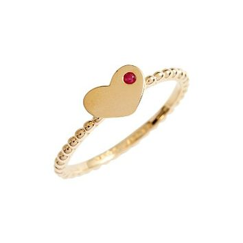 Marc Jacobs Ring for Women, Gold, Brass, 2017, One Size