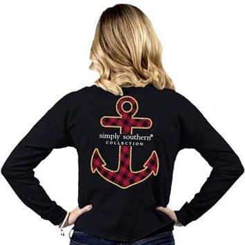 Anchor Shortie Tee