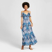 Women's Cold Shoulder Maxi Dress - Xhilaration™ (Juniors')