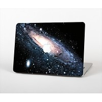 The Swirling Glowing Starry Galaxy Skin Set for the Apple MacBook Air 11""