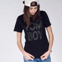 The Midnight Tomboy Tee