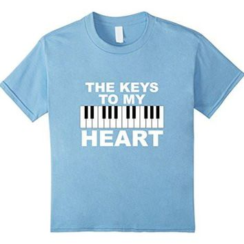 Piano Shirt | Funny Valentines Day Shirt For Piano Lovers