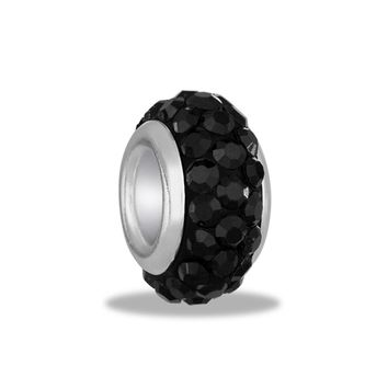 DaVinci Beads Crystal Black Jewelry