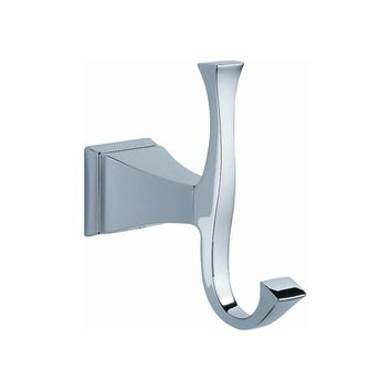 Delta Dryden Double Towel Hook in Chrome-128885 - The Home Depot