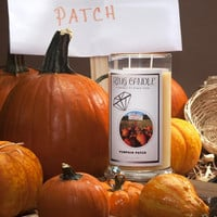 Pumpkin Patch Ring Candle