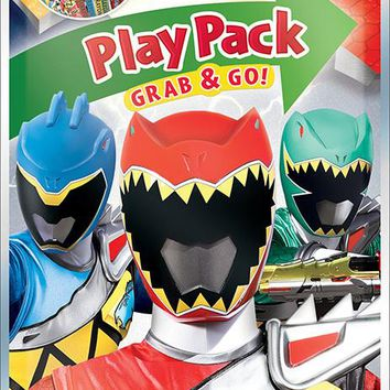 Power Rangers Dino Charge Grab and Go Playpack