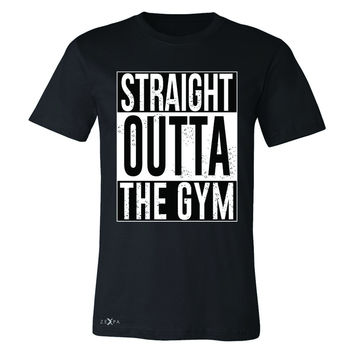 Zexpa Apparel™ Straight Outta The Gym Men's T-shirt Workout Fitness Bodybuild Tee