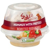Sabra To Go Hummus with Pretzels Roasted Red Pepper | Walgreens