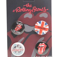 Rolling Stones Button Pack