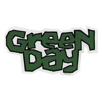 Green Day Logo Sticker