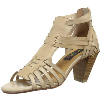 Popular Women39s Boho Huarache T Strap Sandals With Woven Leather