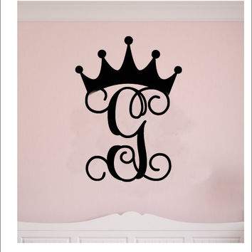 24 quot crown wooden letters wood from acharmednest on etsy