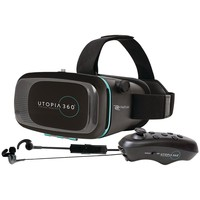 Retrak Virtual Reality Headset With Bluetooth Controller & Earbuds