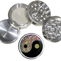 Fashion Weed Design Indian Aluminum Spice Herb Grinder Item # 110514-0012