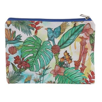 Forest Print Vinyl Cluch Pouch Bag Accessory 15